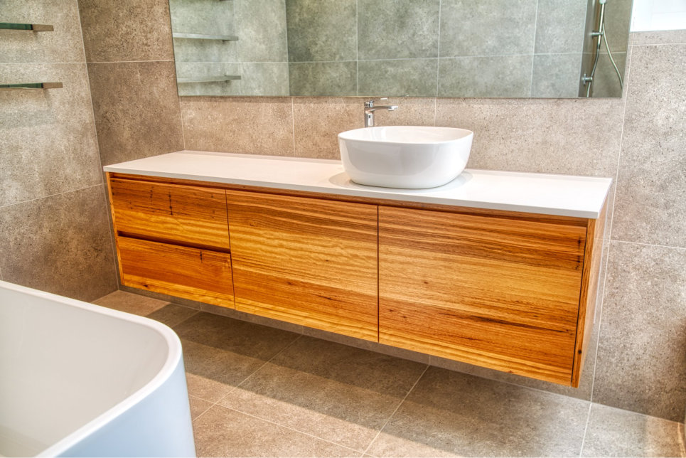 Custom Laundry Sink Cupboards and Draws